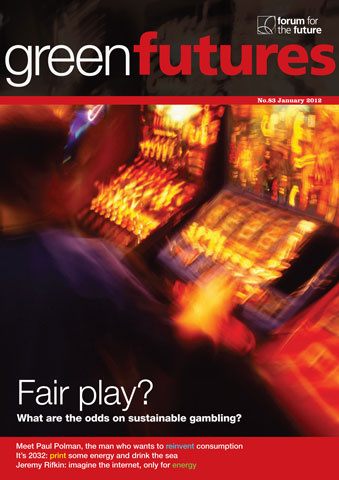 Green Futures Magazine Cover