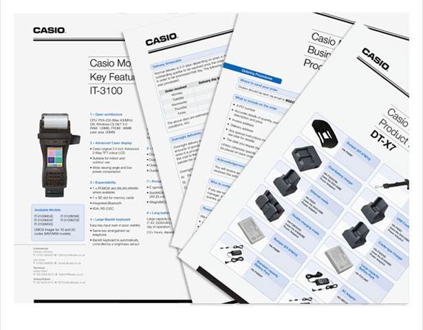 Casio Spec Sheet